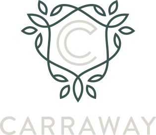 Carraway apartments logo on transparent background