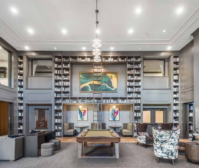 Resident lounge at Carraway